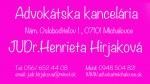 Advokátska kancelária Michalovce právne služby Michalovce