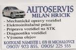 Autoservis Milan Hricik