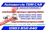 Autoservis Michalovce TOM CAR